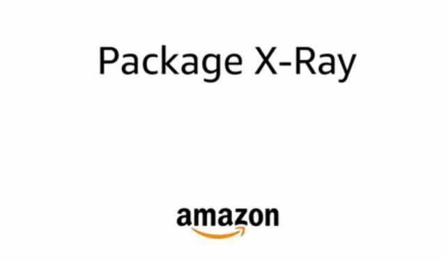 亚马逊技术团队再出新招:透视包裹X光机