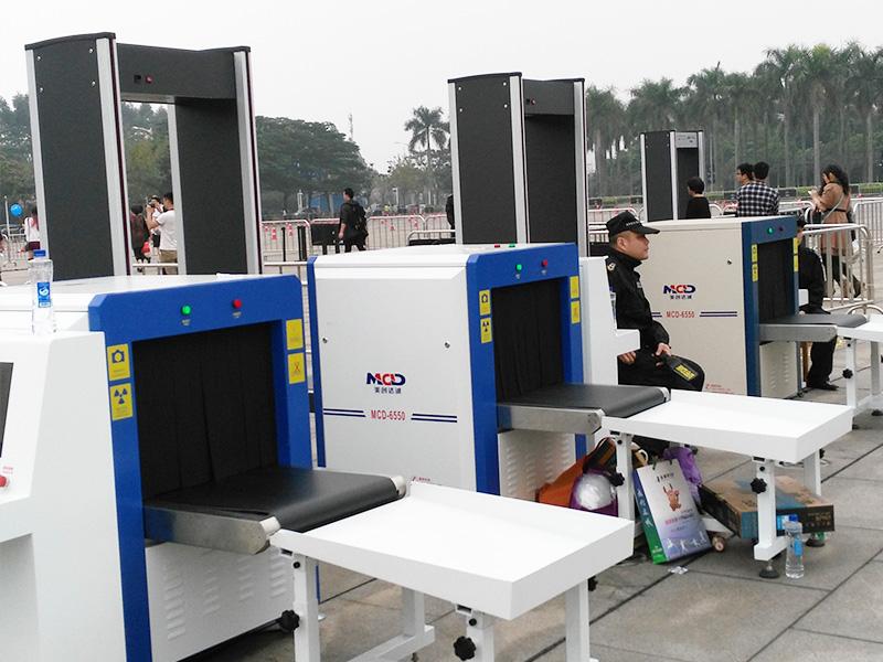 安检设备在快递物流应用中需要多大尺寸的设备