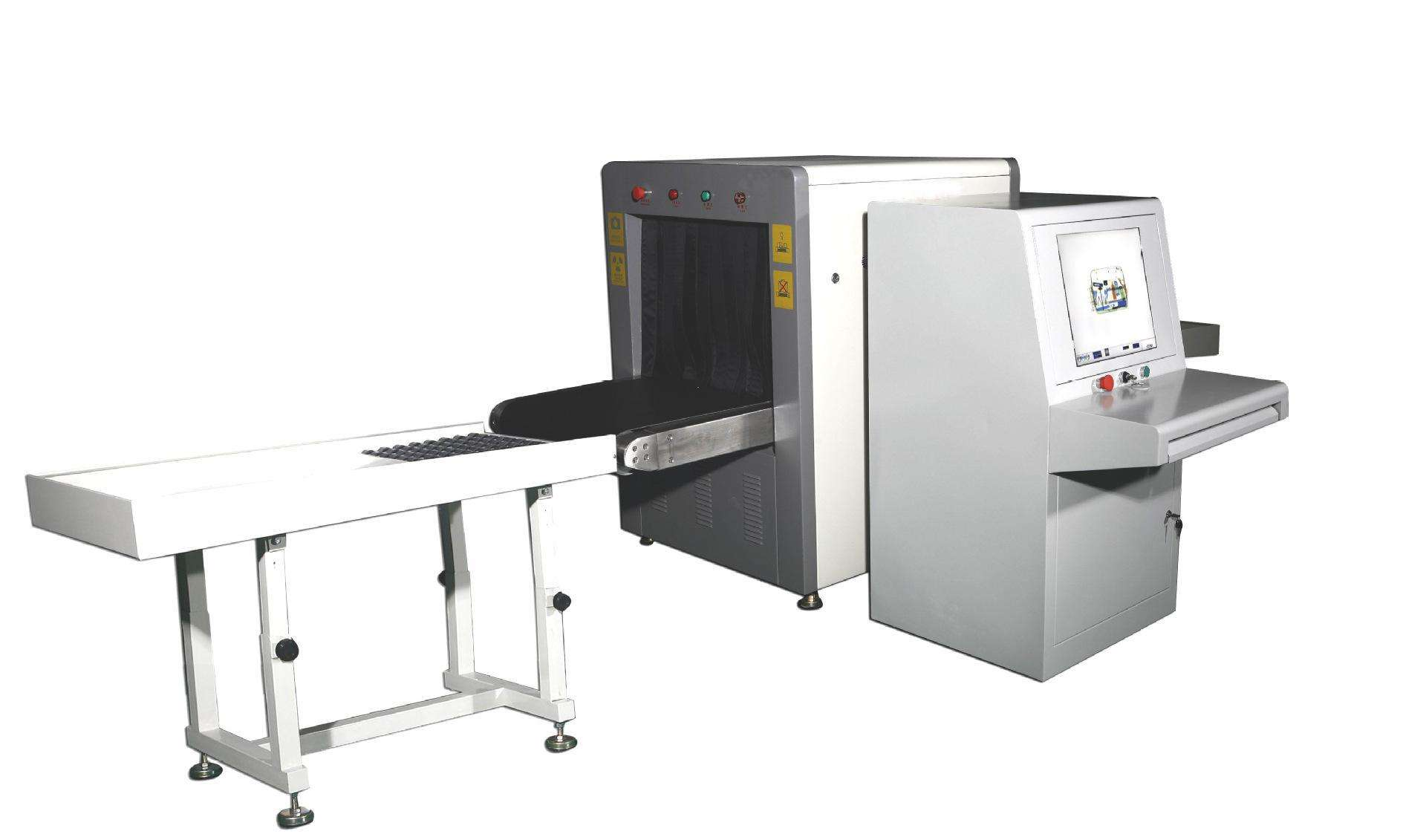 安检X光机的工作原理